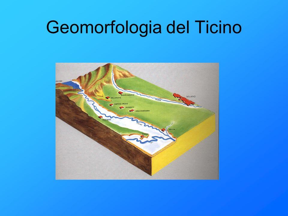 Geomorfologia del Ticino