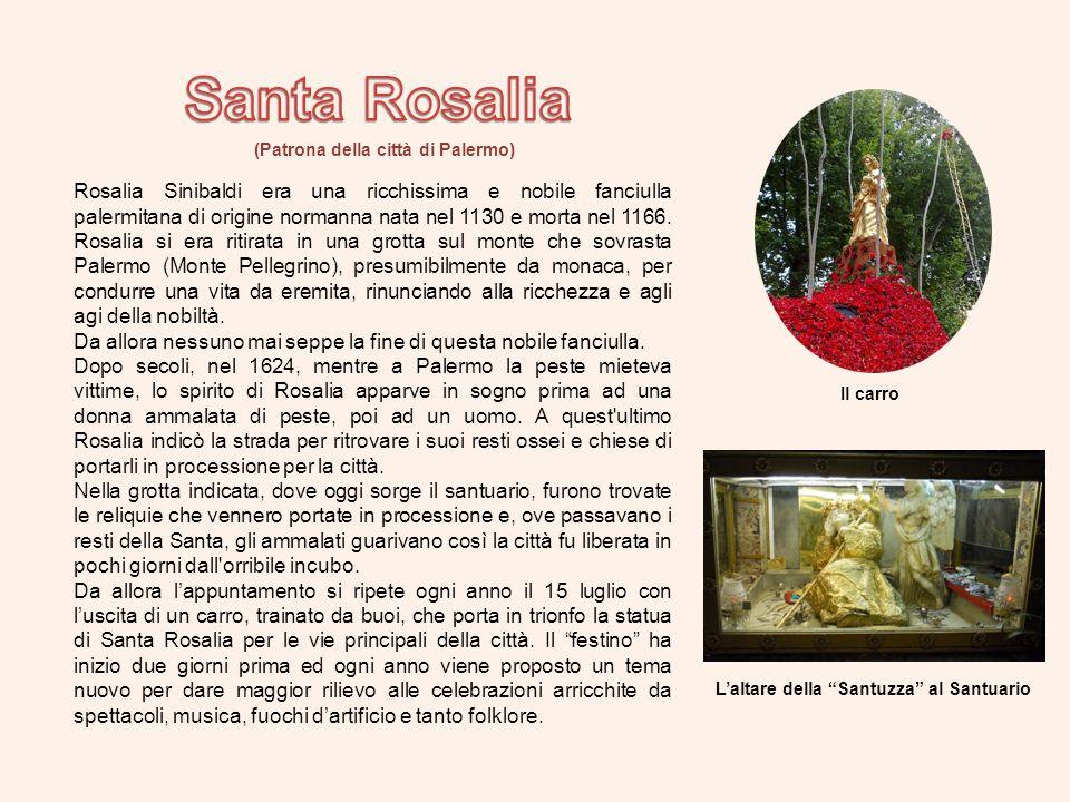 Santa Rosalia (Patrona della città di Palermo)