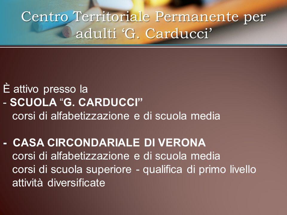 Centro Territoriale Permanente per adulti 'G. Carducci'