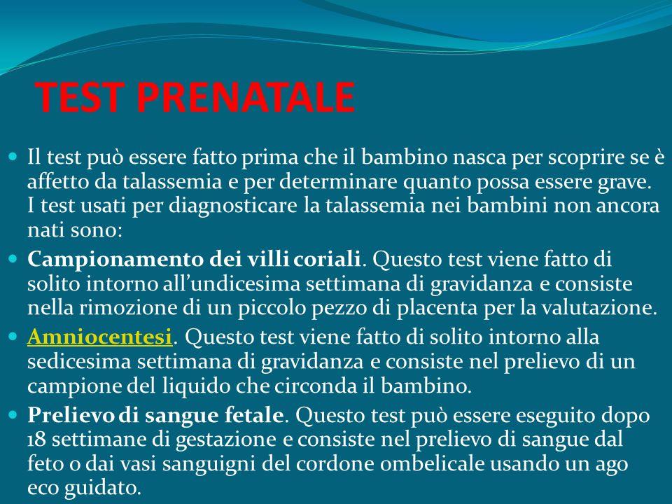 TEST PRENATALE
