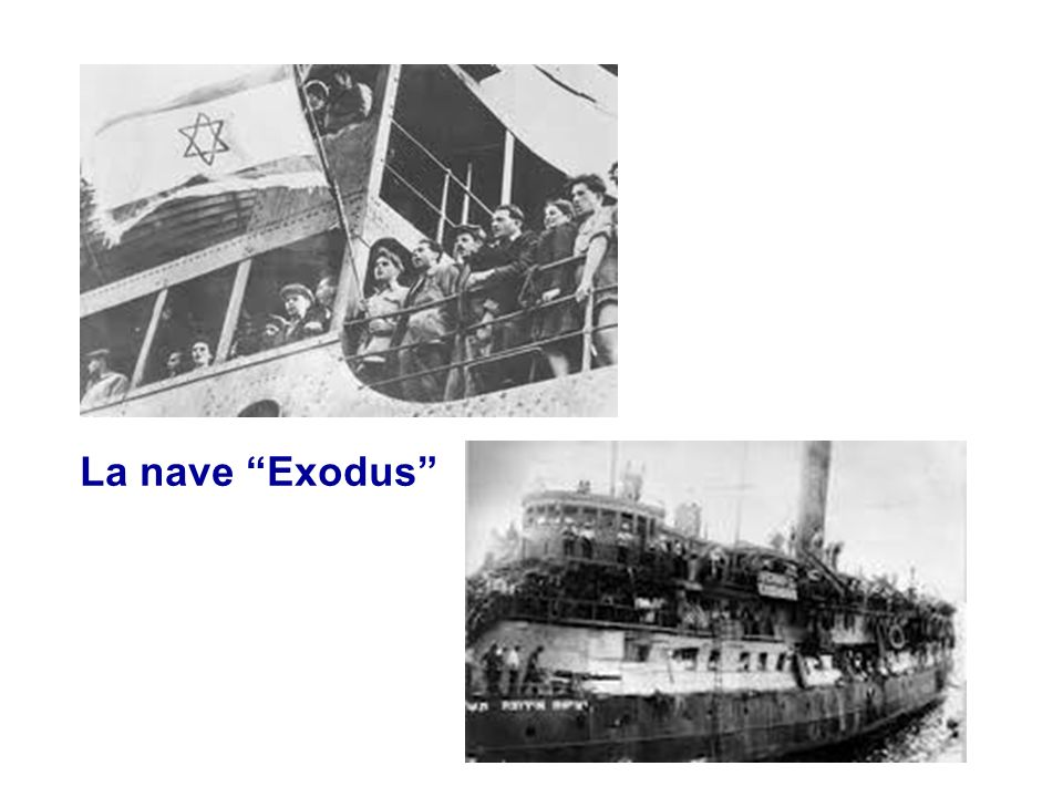 La nave Exodus