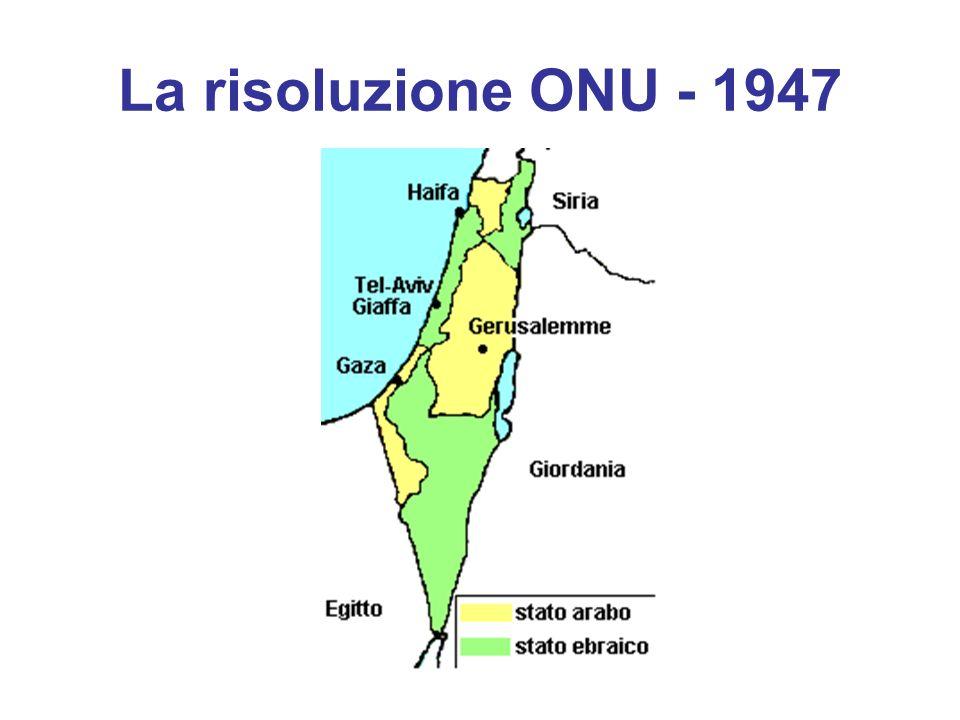 La risoluzione ONU - 1947 30