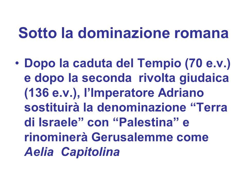 Sotto la dominazione romana
