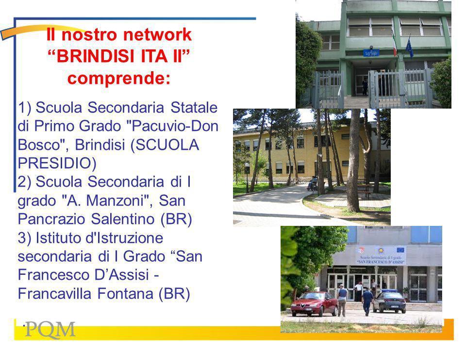 Il nostro network BRINDISI ITA II comprende:
