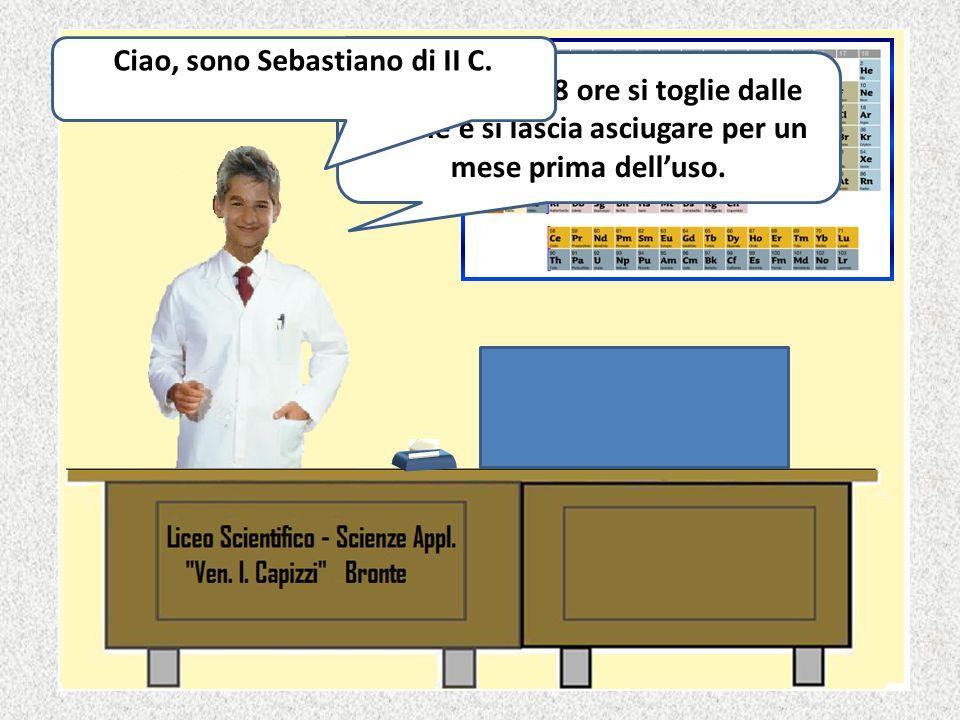 Ciao, sono Sebastiano di II C.