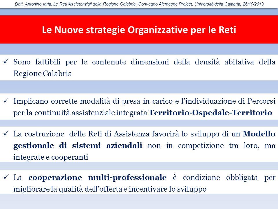 Le Nuove strategie Organizzative per le Reti