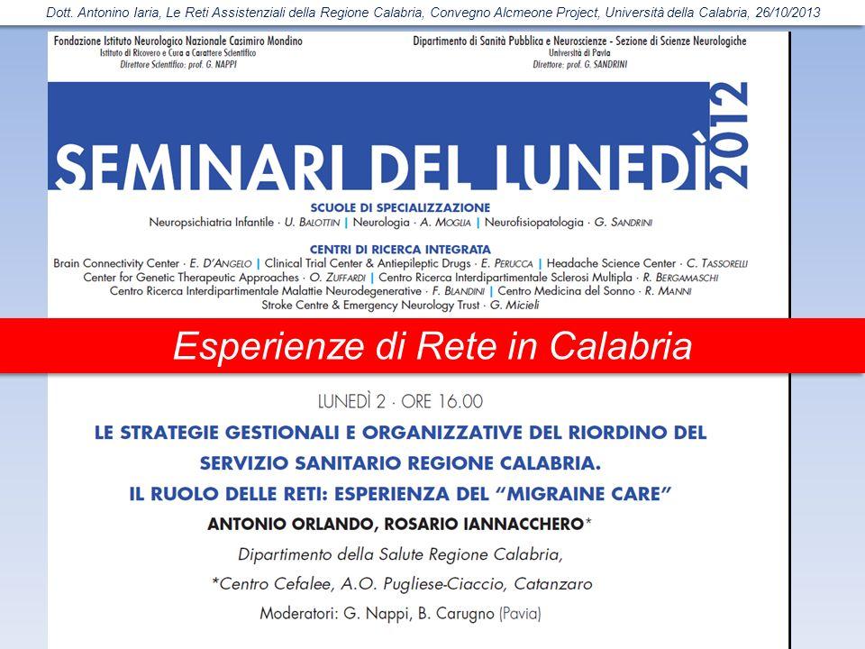 Esperienze di Rete in Calabria