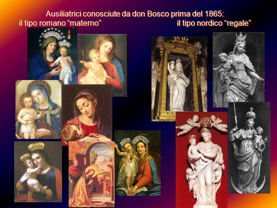 Ausiliatrici conosciute da don Bosco prima del 1865: