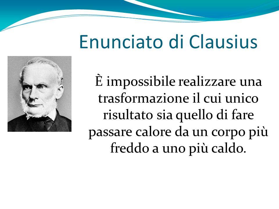 Enunciato di Clausius