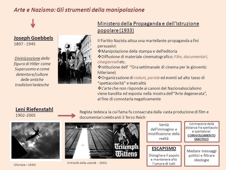 Arte e Nazismo: Gli strumenti della manipolazione