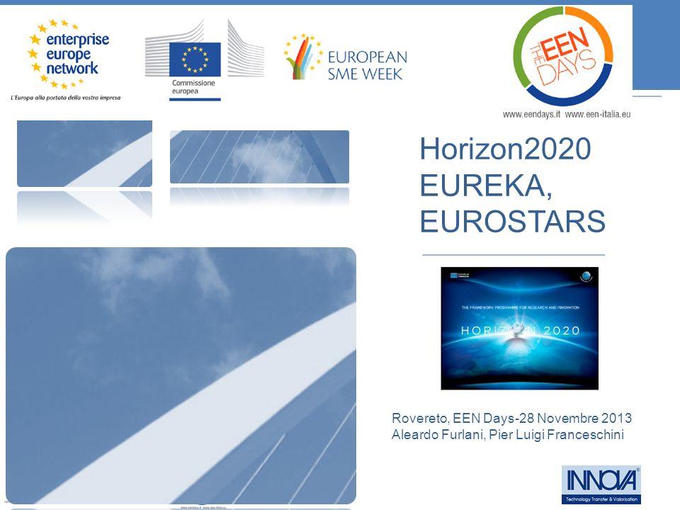 Horizon2020 EUREKA, EUROSTARS