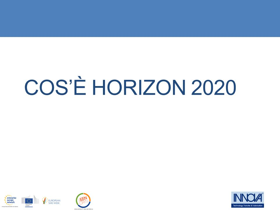 Cos'è Horizon 2020