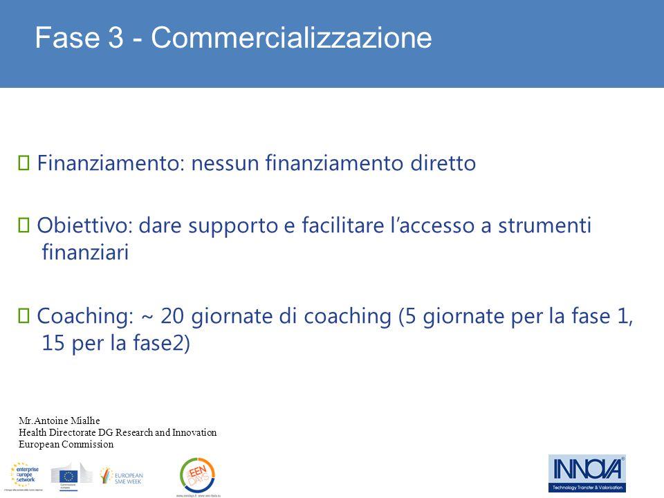 Fase 3 - Commercializzazione