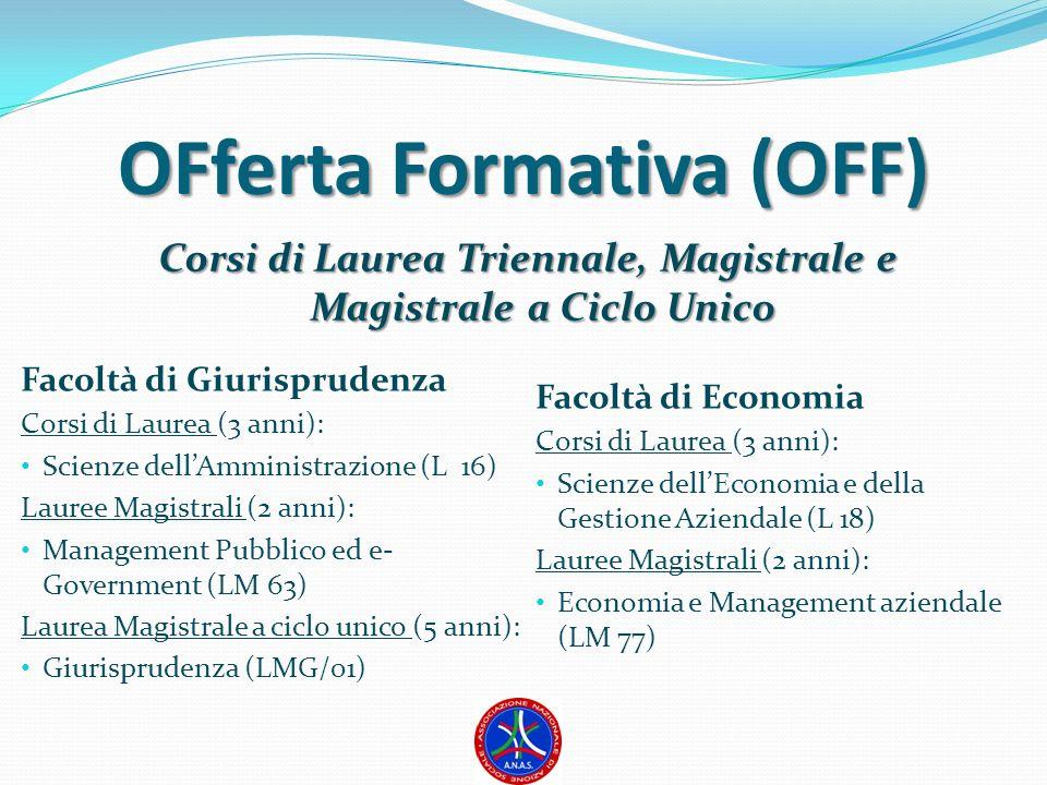 OFferta Formativa (OFF)