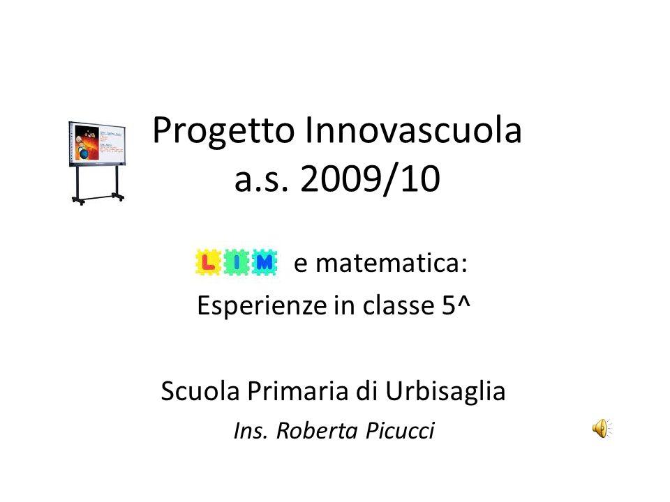 Progetto Innovascuola a.s. 2009/10