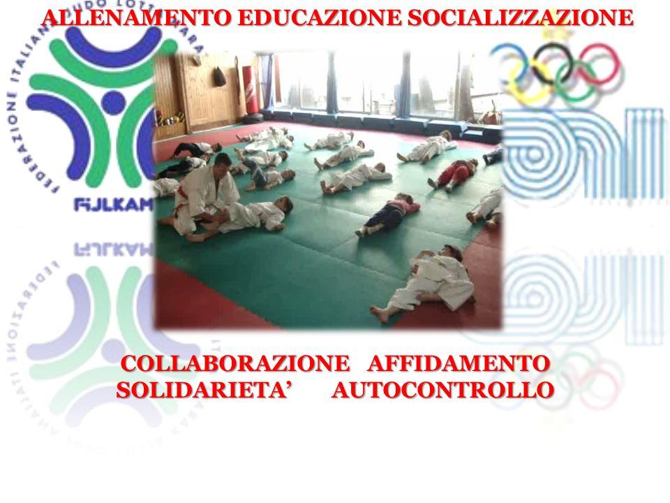 ALLENAMENTO EDUCAZIONE SOCIALIZZAZIONE