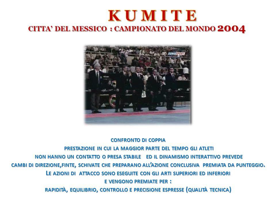 K U M I T E CITTA' DEL MESSICO : CAMPIONATO DEL MONDO 2004
