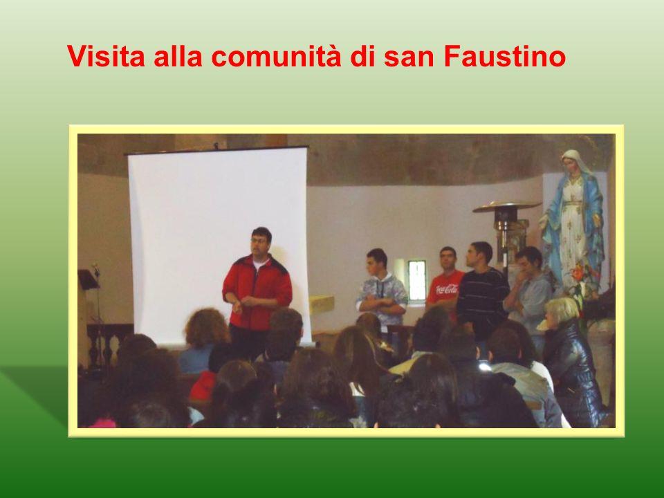 Visita alla comunità di san Faustino