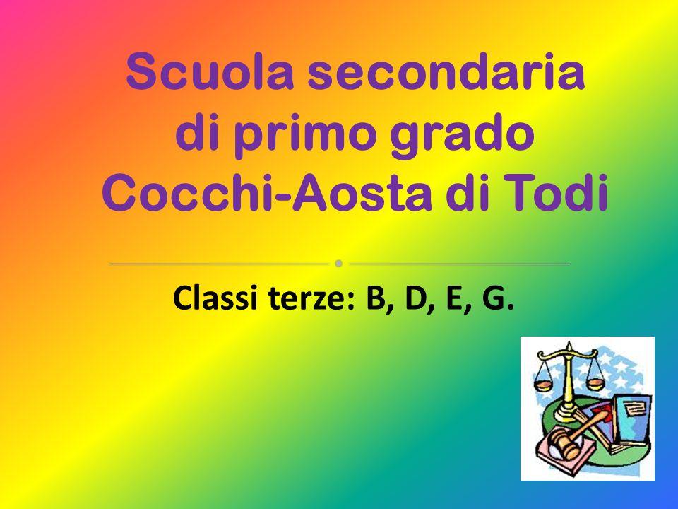 Scuola secondaria di primo grado Cocchi-Aosta di Todi
