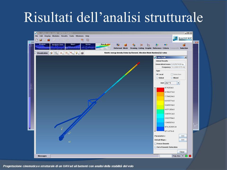 Risultati dell'analisi strutturale
