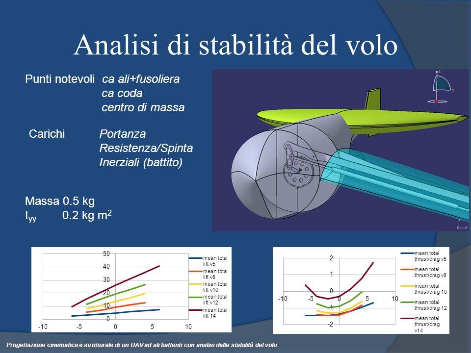 Analisi di stabilità del volo