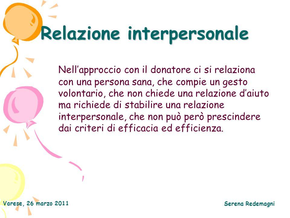 Relazione interpersonale