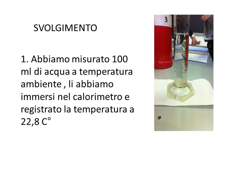 SVOLGIMENTO 1.