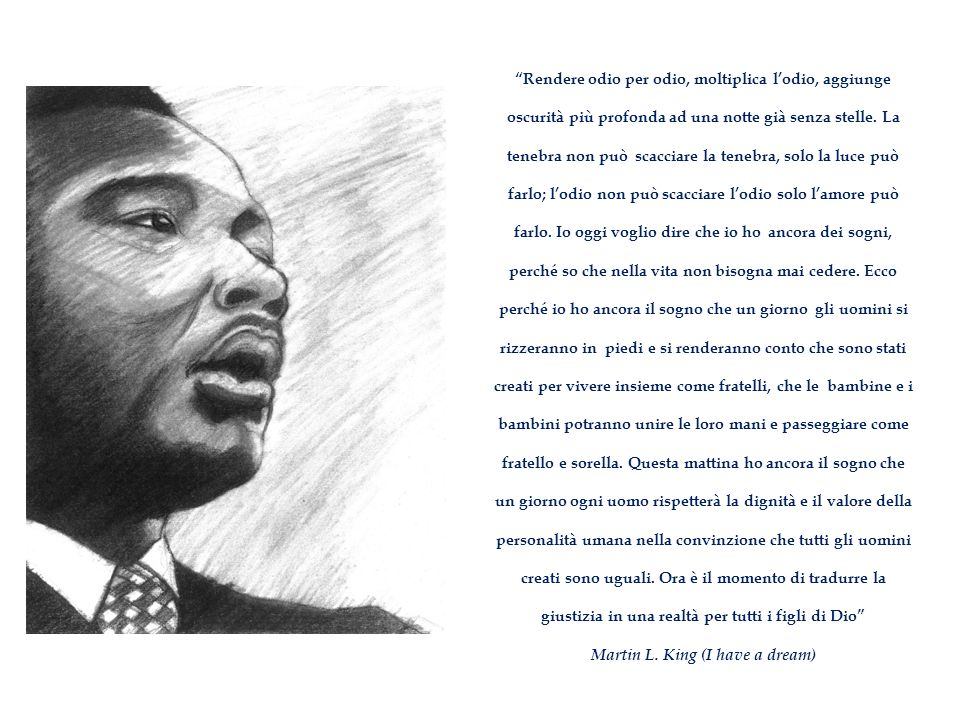 Martin L. King (I have a dream)