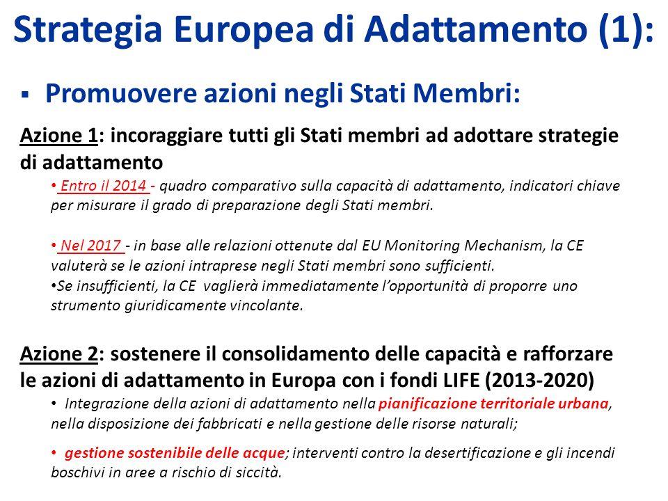 Strategia Europea di Adattamento (1):