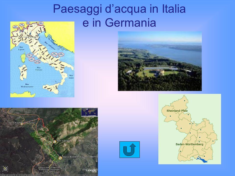 Paesaggi d'acqua in Italia e in Germania