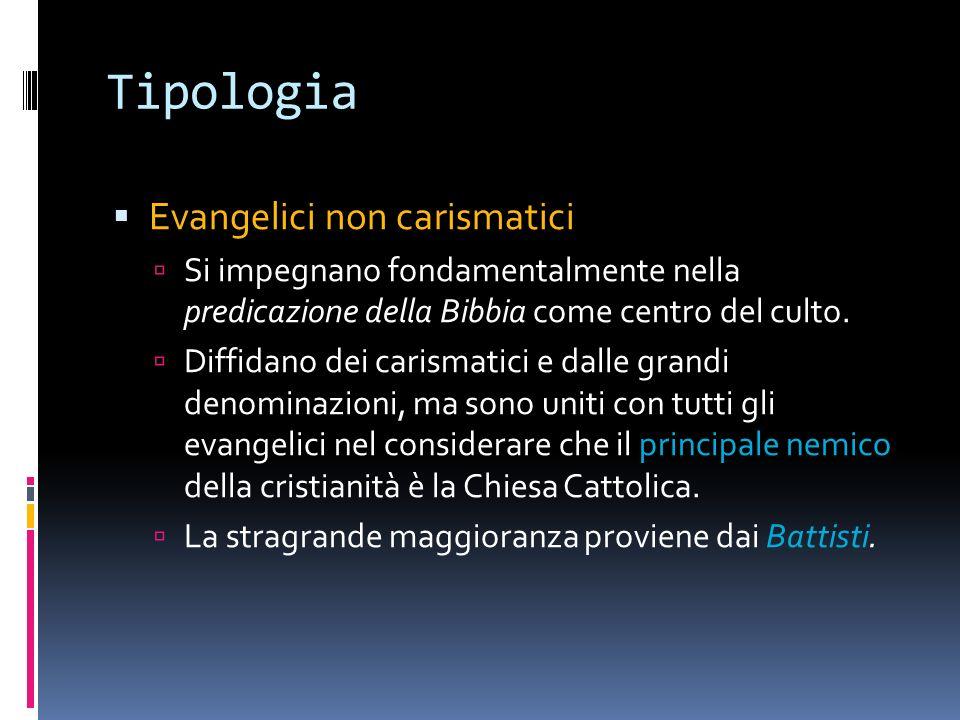 Tipologia Evangelici non carismatici
