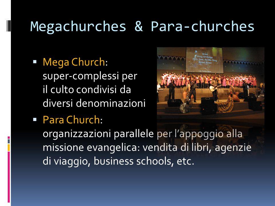 Megachurches & Para-churches
