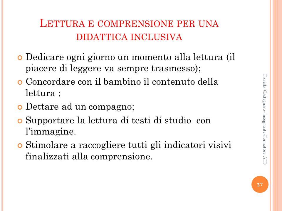 Lettura e comprensione per una didattica inclusiva