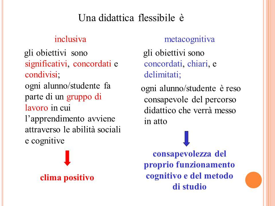 Una didattica flessibile è