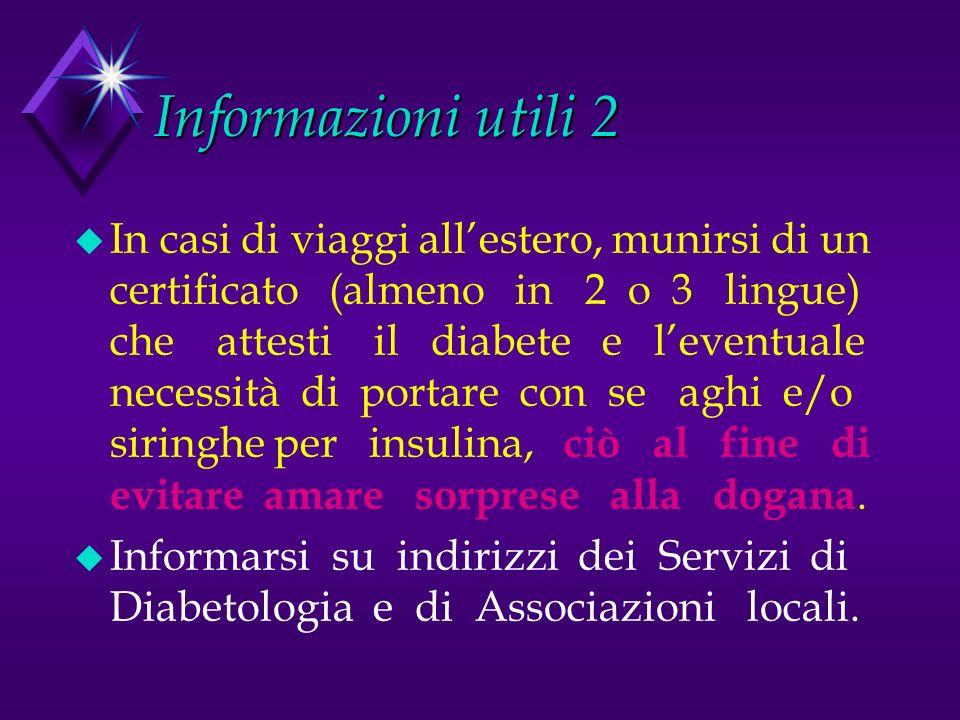 Informazioni utili 2
