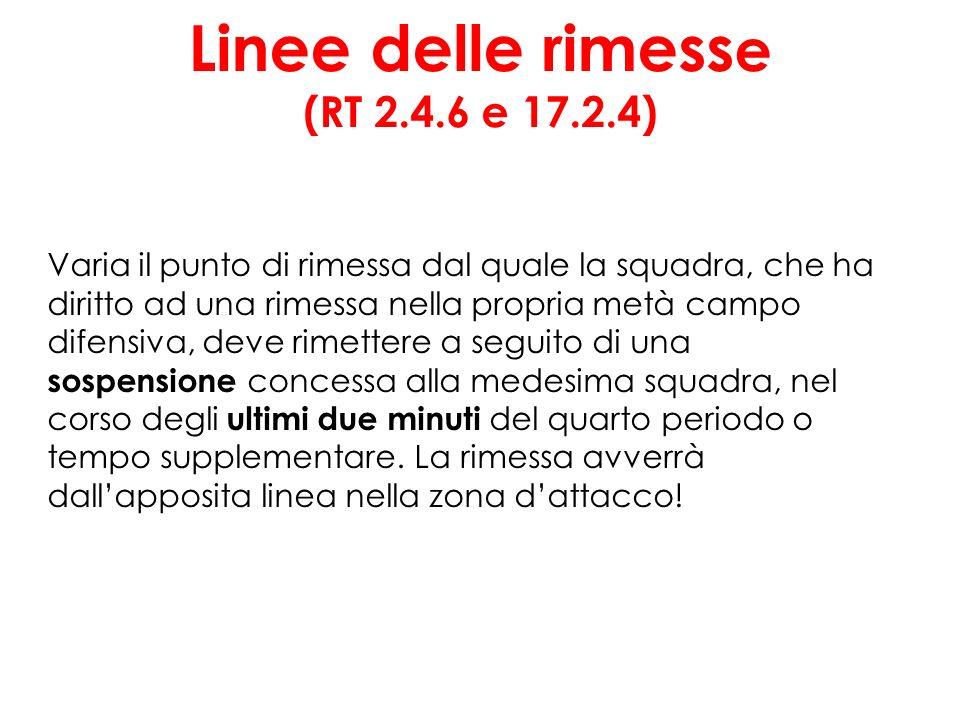Linee delle rimesse (RT 2.4.6 e 17.2.4)