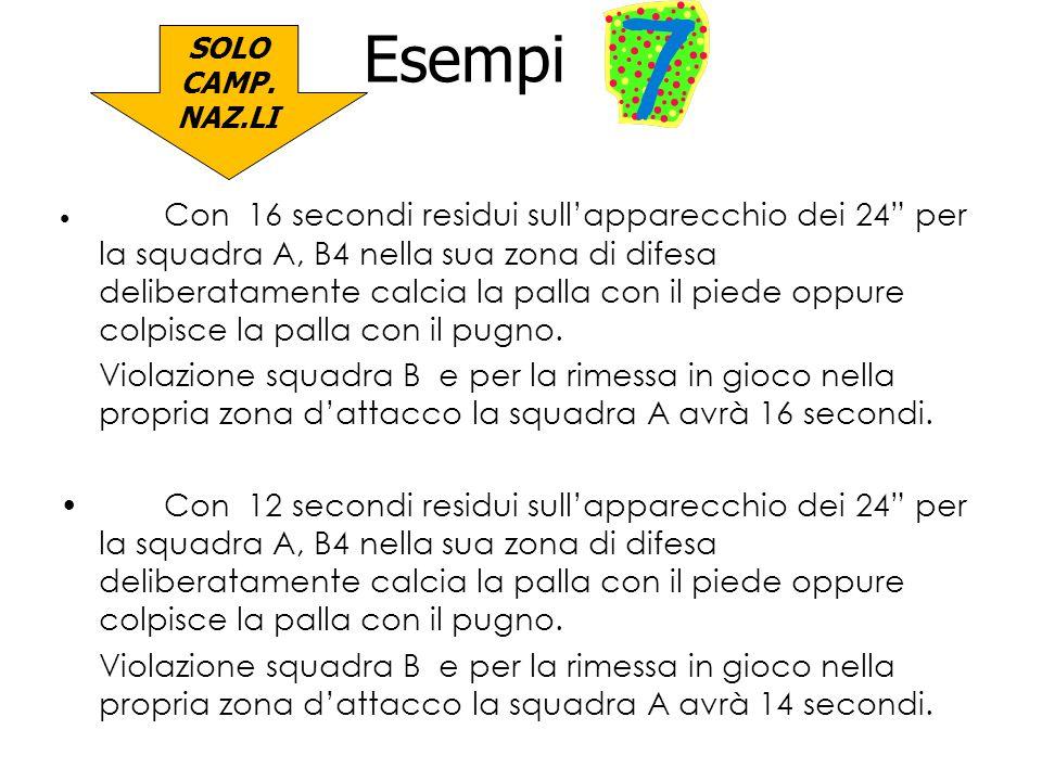 Esempi 7 SOLO CAMP. NAZ.LI.