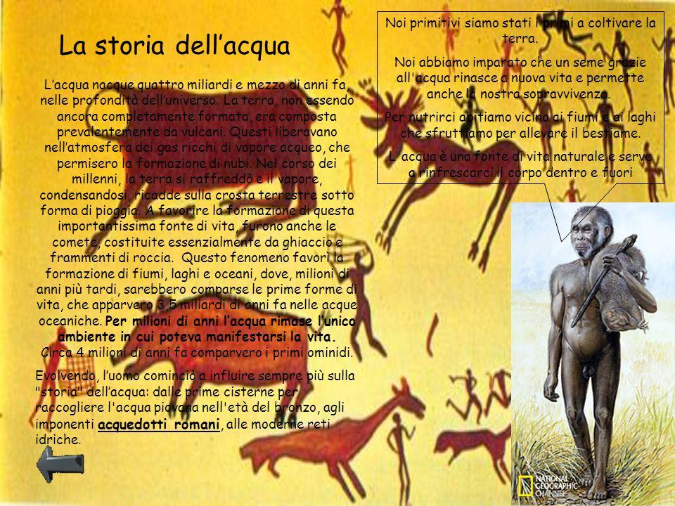 Noi primitivi siamo stati i primi a coltivare la terra.