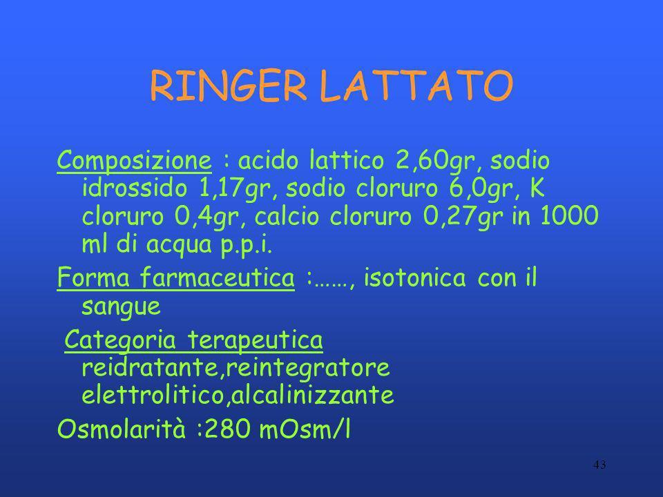 RINGER LATTATO