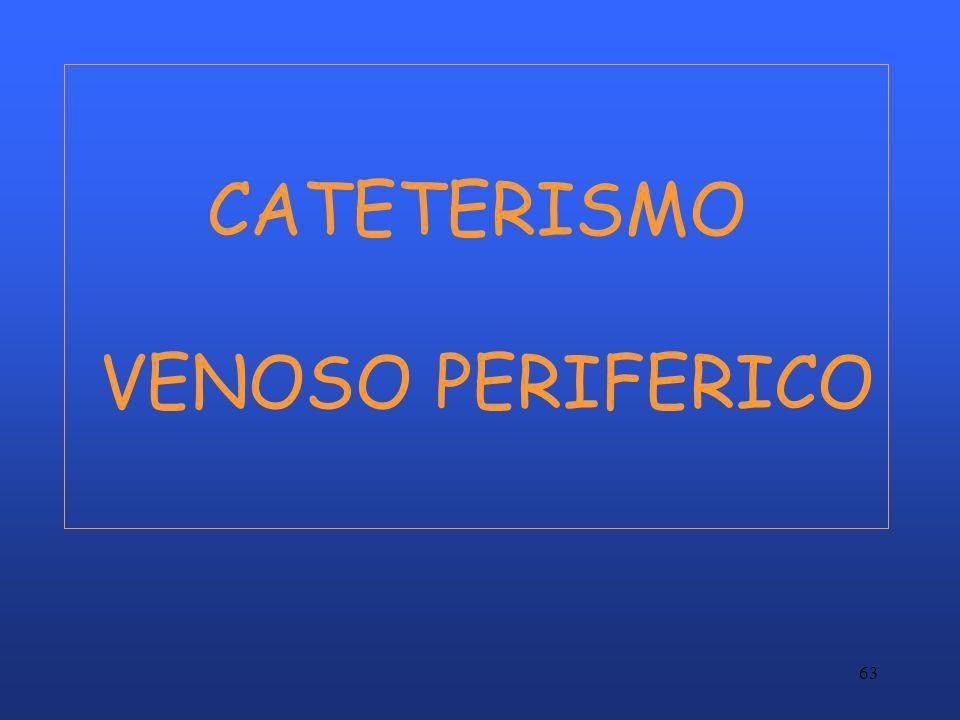 CATETERISMO VENOSO PERIFERICO