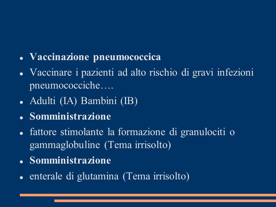 Vaccinazione pneumococcica