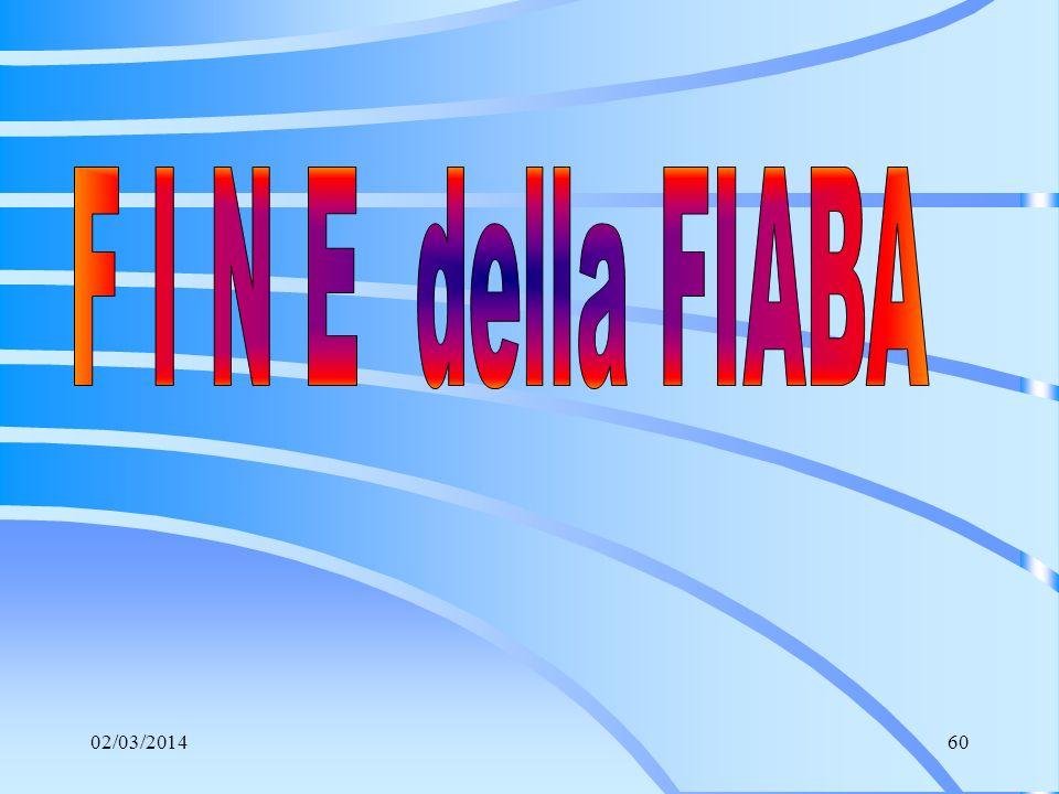 F I N E della FIABA 28/03/2017