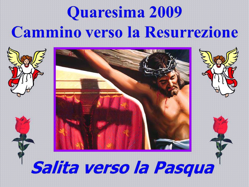 Quaresima 2009 Cammino verso la Resurrezione