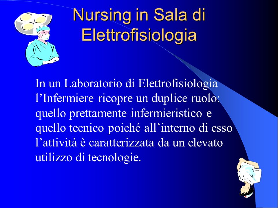 Nursing in Sala di Elettrofisiologia