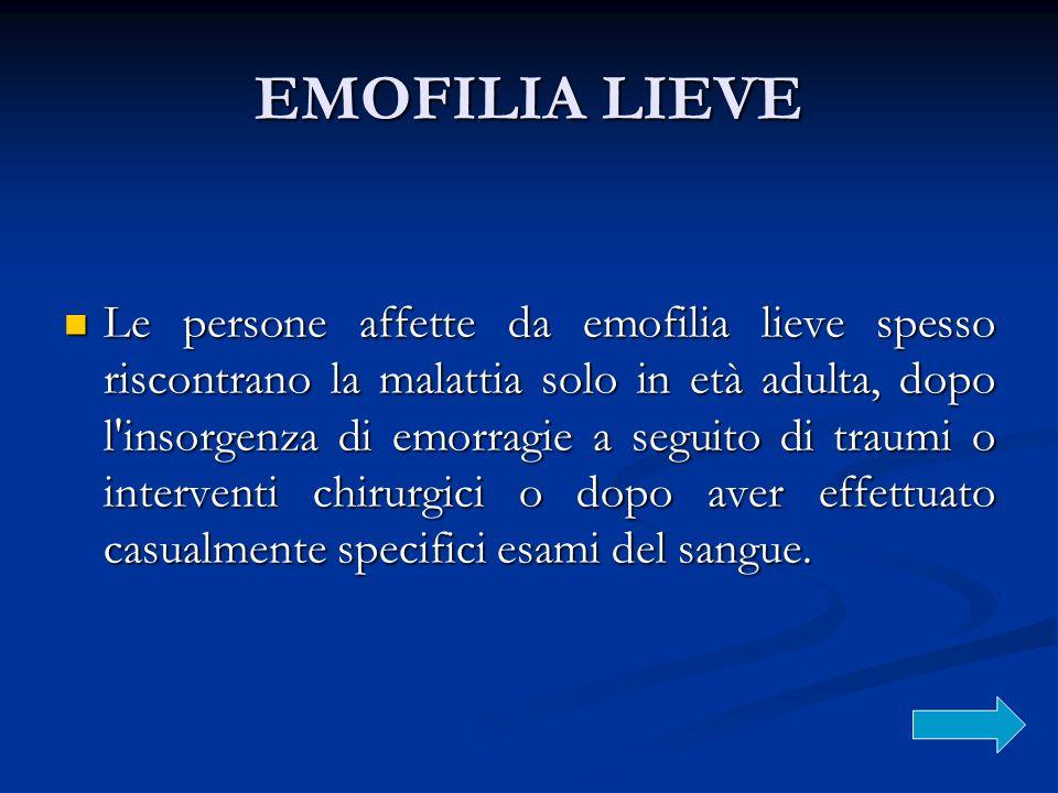 EMOFILIA LIEVE