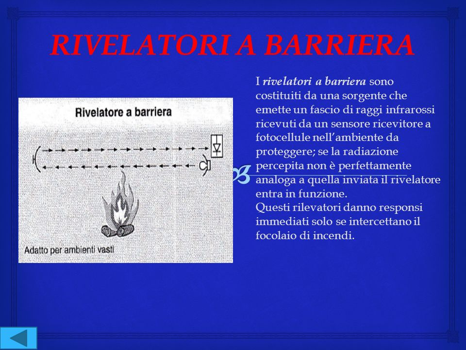 RIVELATORI A BARRIERA