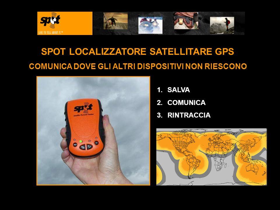SPOT LOCALIZZATORE SATELLITARE GPS