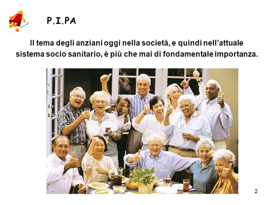 P.I.PA Il tema degli anziani oggi nella società, e quindi nell'attuale