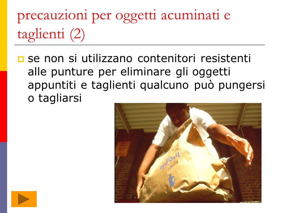 precauzioni per oggetti acuminati e taglienti (2)