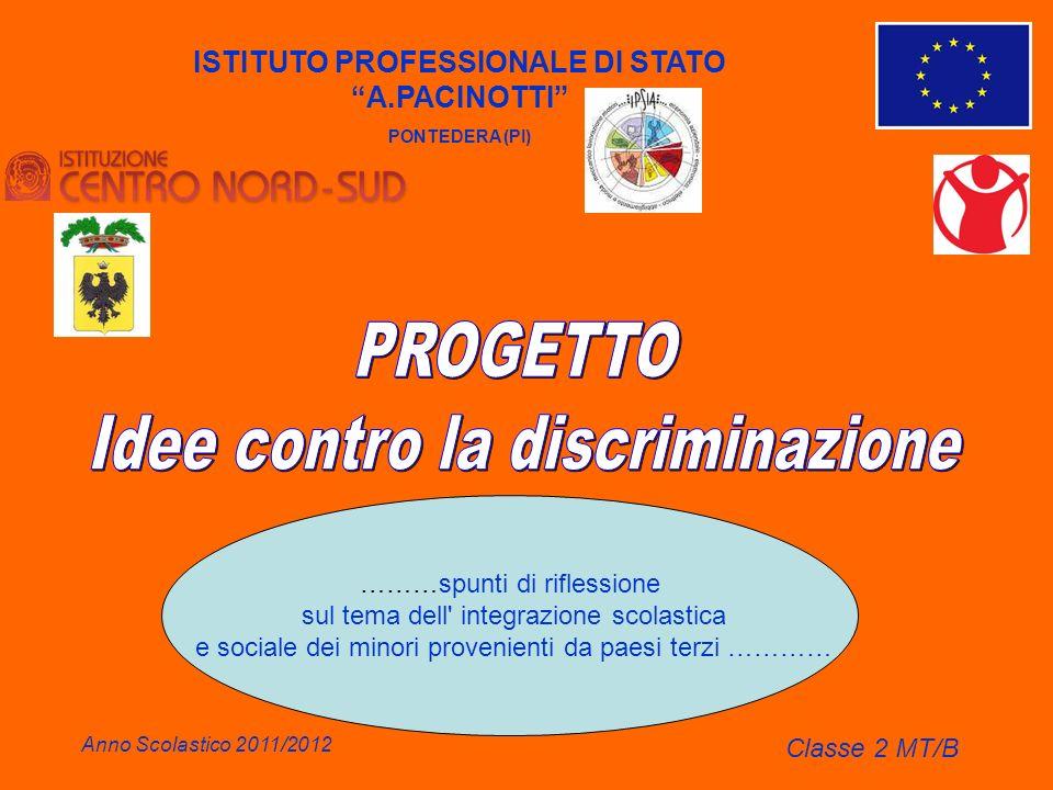 ISTITUTO PROFESSIONALE DI STATO A.PACINOTTI